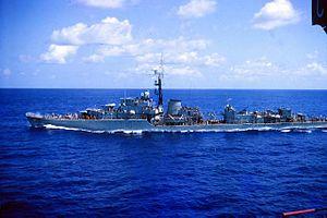HMS Cassandra (R62) - Image: Hms Cassandra circa 1964
