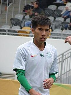 Ho Chun Ting Hong Kong footballer