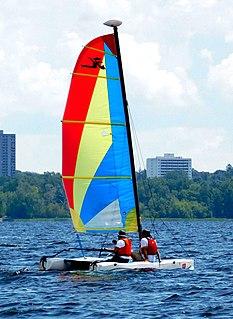 Hobie Wave Sailboat class