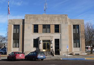 Holdrege, Nebraska - Holdrege city hall