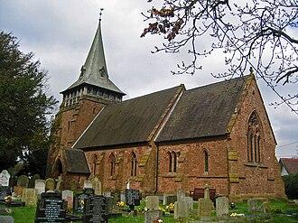 Capenhurst - Image: Holy Trinity Church, Capenhurst