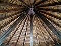 Holzdachkonstruktion Schloßbrunnen.JPG