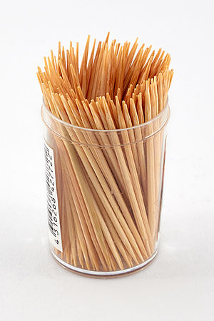 Toothpick - Wood toothpicks