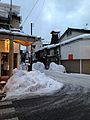 Hommachi Street Shopping Area in Takayama at dusk 20150123-3.jpg