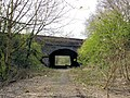 Hoole Village - bridge carrying the A41 over the disused Mickle Trafford railway - geograph.org.uk - 791051.jpg
