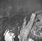 Hoonah Glacier, tidewater glacier and hanging glacier, September 17, 1966 (GLACIERS 5473).jpg