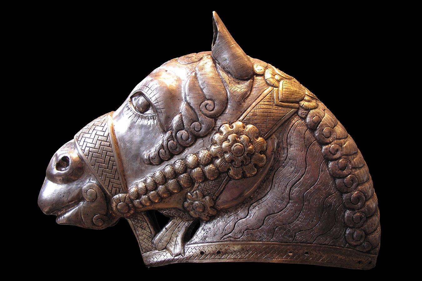 Head horse Kerman MAO132