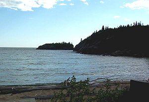 Pukaskwa National Park - Horseshoe Bay on Lake Superior