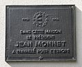 Hotel Grand Chef 2008 Plaque Jean Monnet.jpg