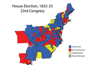 United States House of Representatives elections 1832 Wikipedia