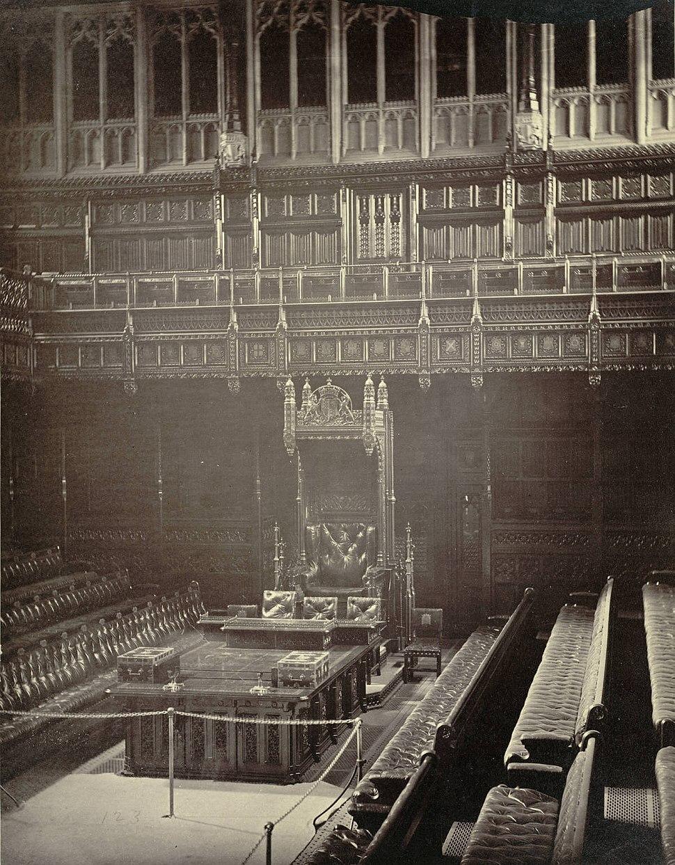 House of Commons. Speaker's Chair