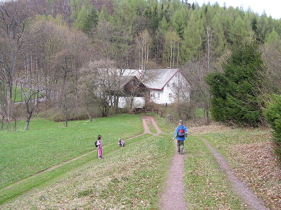 Hrádeček - Václav Havel country home P1011339kk