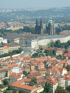Hradčany district of Prague