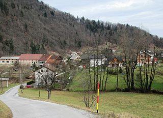 Hruševo Place in Upper Carniola, Slovenia