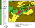Huabeisaurus stratigraphy map.png