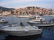 Port in Hvar town
