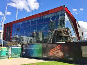International Convention Centre Sydney - Image: ICC Sydney Theater Under Construction, April 2016