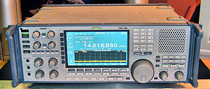 Radio receiver - Modern communications receiver, ICOM RC-9500