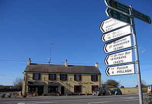 Blue Ball, County Offaly - The Blue Ball pub at Blue Ball