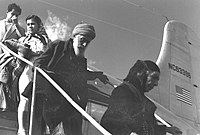 IMMIGRANTS FROM IRAQ ARRIVING VIA NIICOSIA IN CYPRUS AT LOD AIRPORT.jpg