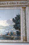 interieur, kamer, beschilderd behang, detail (na restauratie) - harderwijk - 20262590 - rce