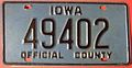 IOWA 1980'S ^-OFFICIAL COUNTY OWNED VEHICLE LICENSE PLATE - Flickr - woody1778a.jpg