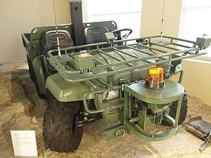 IRobot R-Gator - R-Gator, autonomous vehicle developed by iRobot and John Deere.