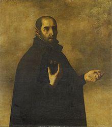 Francisco de Zurbarán: St Ignatius Loyola