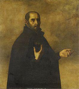 Ignatius Loyola by Francisco Zurbaran