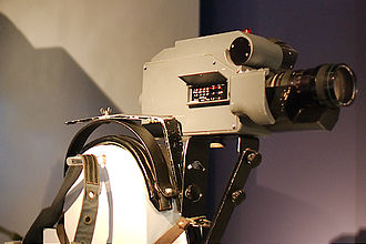 Professional video camera - A 1973 Ikegami HL-33 ENG