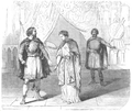 Illustrirte Zeitung (1843) 09 139 1 Beauvallet als Holofernes und Dem Rachel in der Rolle der Judith.PNG