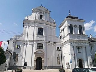 Rawa Mazowiecka Place in Łódź Voivodeship, Poland