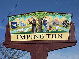 Histon and Impington - Village sign of Impington