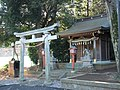 Inari Shrine (稲荷神社) in Rokusho Shrine (六所神社) - panoramio.jpg