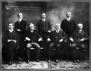 Australian Public Service - Image: Inaugural Departmental Heads of the Australian Commonwealth Public Service 1901