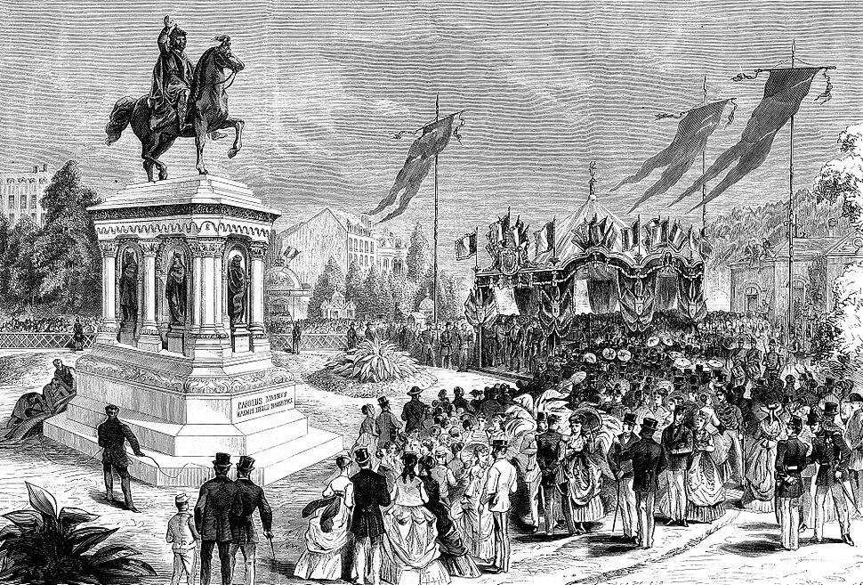 Inauguration de la statue de Charlemagne %C3%A0 Li%C3%A8ge