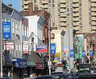 Multiculturalism - People of Indian origin have been able to achieve a high demographic profile in India Square, Jersey City, New Jersey, US, known as Little Bombay, home to the highest concentration of Asian Indians in the Western Hemisphere and one of at least 24 enclaves characterized as a Little India which have emerged within the New York City Metropolitan Area, with the largest metropolitan Indian population outside Asia, as large-scale immigration from India continues into New York, through the support of the surrounding community.