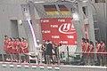 Indian Grand Prix 2013 Podium (Ank Kumar, Infosys) 02.jpg