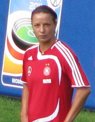 UEFA Women's Euro 2009 - German striker Inka Grings was the tournament's top scorer.