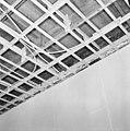 Interieur, begane grond, linker voorkamer, plafond, beschilderde moerbalken - 20000810 - RCE.jpg