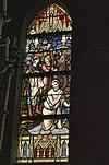 interieur doopkapel, overzicht glas in loodraam - lith - 20334133 - rce