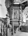 interieur kuip van de preekstoel - beers - 20029566 - rce
