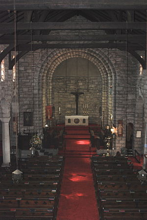 Germiston - Interior of St Boniface Church