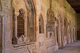 Old Cathedral of Salamanca - Image: Interiores de la Catedral Vieja de Salamanca 3