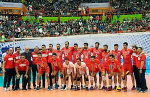 Iran men's national volleyball team - Iran volleyball team members Oc-2015