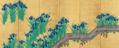 Irises at Yatsuhashi (left) by Sakai Hōitsu.png