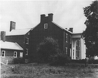 Fort Pleasant - Image: Isaac Van Meter House