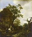 Isaac van Ostade - Travellers near a Village.jpg