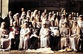 Isabel Alfonsa, Juan Cancio y sus familias el día de su boda.jpg