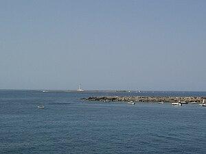 Sant'Andrea Island - View towards the Island of Sant'Andrea.